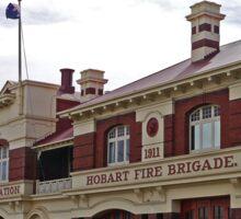 Hobart Fire station (2) Sticker