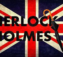 Sherlock Holmes Union Jack by Arteffecting