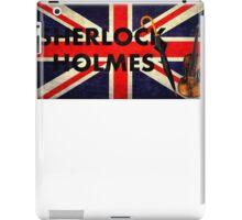 Sherlock Holmes Union Jack iPad Case/Skin