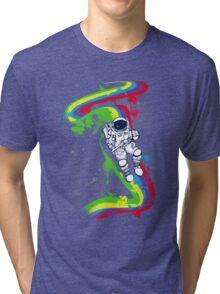 rainbow bridge Tri-blend T-Shirt