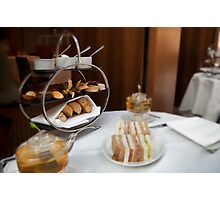 Afternoon Tea in Central London Photographic Print