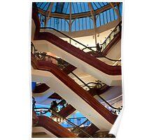 shopping centre atrium Poster