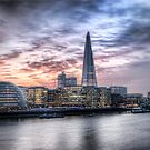 Sunset London - From Tower Bridge by eic10412