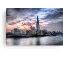 Sunset London - From Tower Bridge Canvas Print