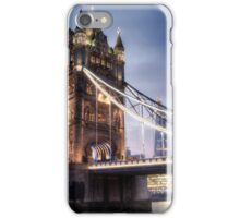 Tower Bridge London at Sunset - From the Dock iPhone Case/Skin