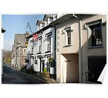 Red Lion Inn in Hawkshead Poster