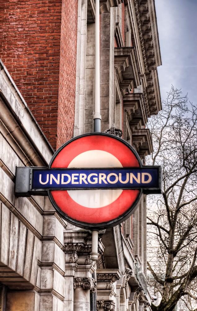 Underground Sign - London by eic10412