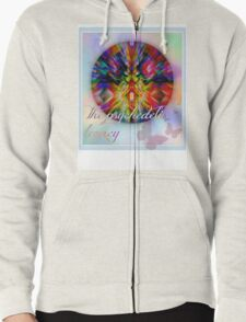 the psychedelic legacy Zipped Hoodie