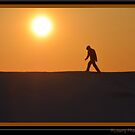 Hiking the Ice Hills by BarbL