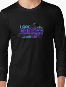 I Got Grapes Black Long Sleeve T-Shirt