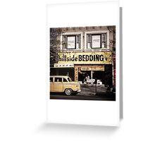 New York Vintage II Greeting Card