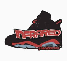 Infrared 6's Black Kids Tee