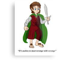 mr frodo baggins Metal Print