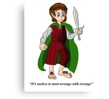 mr frodo baggins Canvas Print