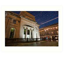 Royal Exchange Square and GOMA, Glasgow Art Print