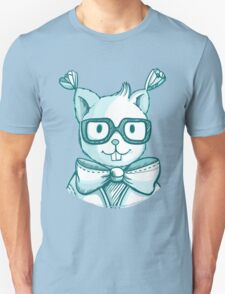 Funny hipster squirrel in glasses Unisex T-Shirt