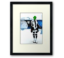 The Girl from Mars Framed Print