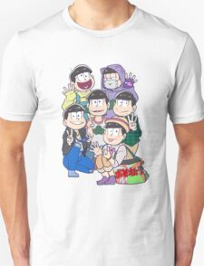 Six Same Faces - Osomatsu-san T-Shirt