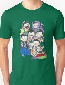 Six Same Faces - Osomatsu-san T-Shirt