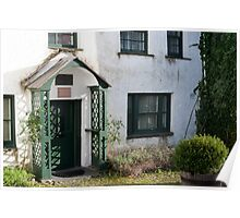 Picturesque cottage in Hawkshead Poster