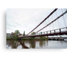 South Portland Street Suspension Bridge Canvas Print