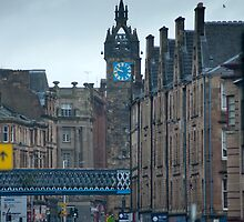 Tolbooth Steeple at Glasgow Cross by photoeverywhere