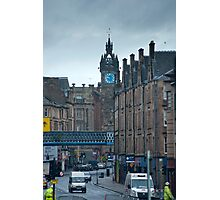Tolbooth Steeple at Glasgow Cross Photographic Print
