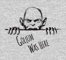 Gollum was here One Piece - Short Sleeve