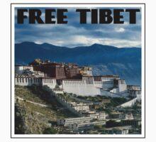 """""""FREE TIBET"""" Slogan by DeadHound"""
