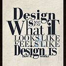 Design Quote Typhography by traxim