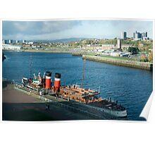 Waverley Paddle Steamer Poster