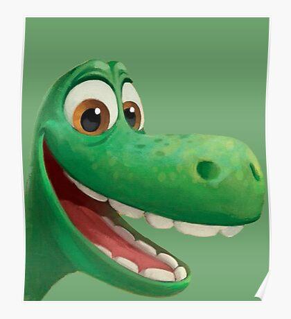 Good Dinosaur Arlo Poster