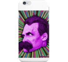 Nietzsche Burst 2 - by Rev. Shakes iPhone Case/Skin