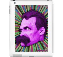 Nietzsche Burst 2 - by Rev. Shakes iPad Case/Skin