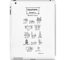 Hannibal - Season 1: Bloodless Edition iPad Case/Skin