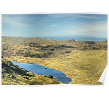The View West From Levers Hause Poster