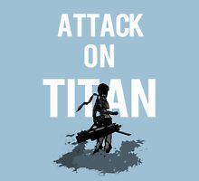 Attack on Titan Mikasa Ackerman Womens Fitted T-Shirt