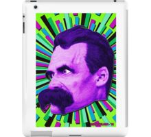 Nietzsche Burst 3 - by Rev. Shakes iPad Case/Skin