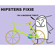 Hipster fixie Photographic Print