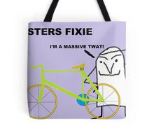 Hipster fixie Tote Bag