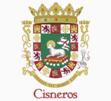 Cisneros Shield of Puerto Rico One Piece - Short Sleeve