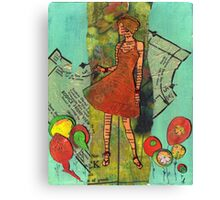 Paper Doll 2 Canvas Print