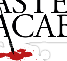 Master of the Macabre Sticker