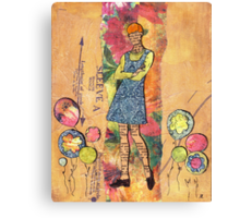 Paper Doll 5 Canvas Print