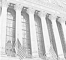 New York Stock Exchange by TheJetSetter