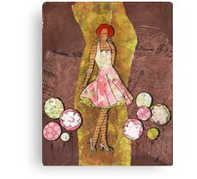 Paper Doll 6 Canvas Print