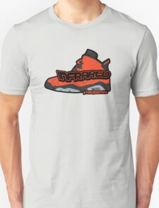 Infrared 6's Red Unisex T-Shirt