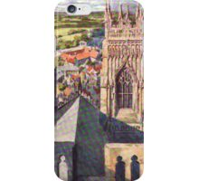 York Views from York Minster iPhone Case/Skin