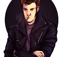 Greaser Gabriel (SPN) by Brooke Milton