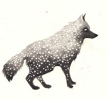 Snow Wolf by Hannah Falvey